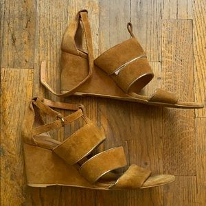 Free People ankle strap wedges